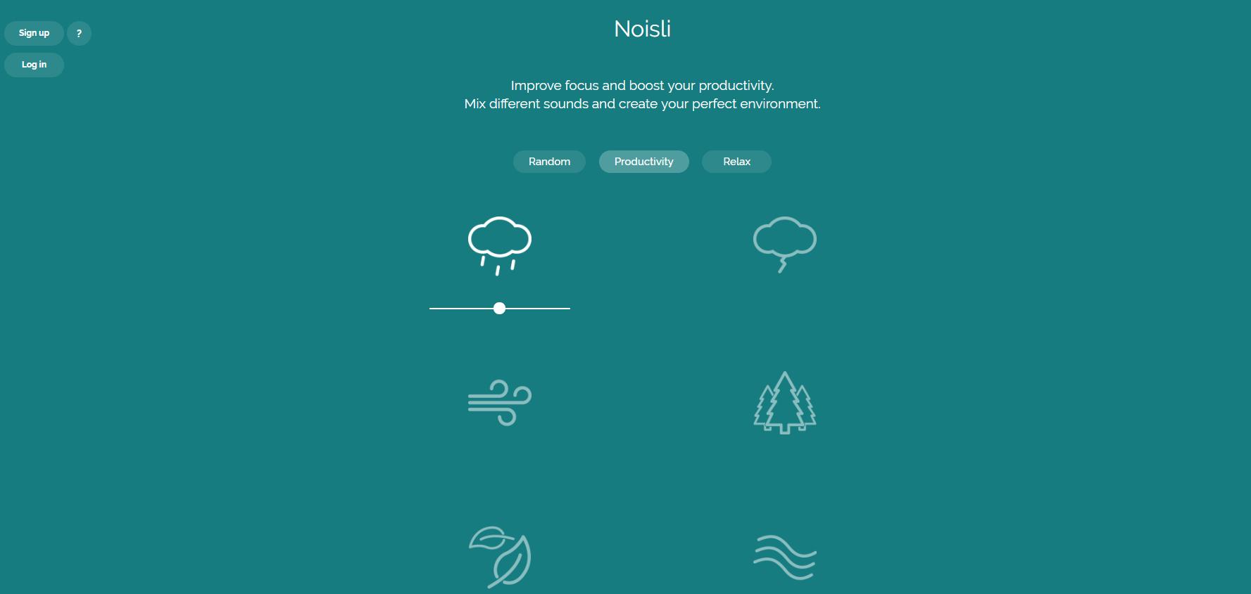 noisli tool to  boost developer productivity